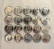 1965 Sms Roll Kennedy Half Dollars - Gem Bu - 20 Coins !