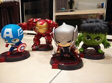 Hero Remix Bobble Head Series Avengers: Thor, Hulk, hulk buster and cap A