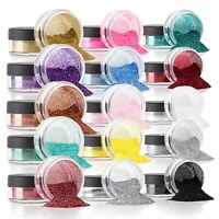 Copper GLITTER POTS FINE HIGH QUALITY HUGE RANGE OF COLOURS NAIL ART CRAFT
