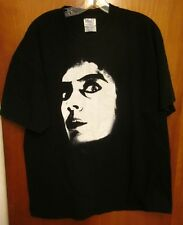 ROCKY HORROR PICTURE SHOW logo tee XL sci-fi Dr Frank N Furter T shirt Tim Curry