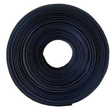 "25 FT. 25' Feet BLACK 3/4"" 19mm Polyolefin 2:1 Heat Shrink Tubing Tube Cable UL"