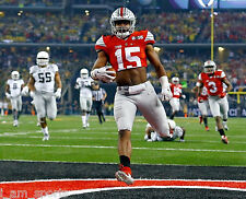 EZEKIEL ELLIOTT OHIO STATE BUCKEYES 2015 NATIONAL CHAMPIONSHIP 8x10 PHOTO