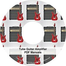 Repair Tube Guitar DIY Build Troubleshoot Amplifier Electronics 40 Books on CD
