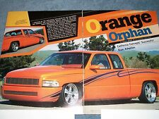 "1997 Dodge Ram 1500 Extended Cab Custom Pickup Article ""Orange Orphan"""