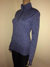 Under Armour heatgear Loose Half Zip Long Sleeve Running Shirt, Women's Size S