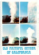 Old Faithful Geyser California Postcard Mt St Helena #2 Napa Valley Vtg Unposted