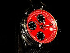 BREITLING Chronomat Longitude Red Dial Automatic Swiss Chronograph Watch A20048