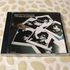 Lou Reed - Walk On The Wild Side / The Best of Lou Reed 1989 JAPAN CD #102-3