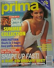 Prima Magazine July 1993 Shorts in 2 hours. 6 Day Swimsuit Diet. Delia Smith's S