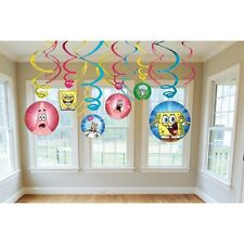 Spongebob Squarepants Swirl Decorations For Birthday Party Supplies Favor Pack
