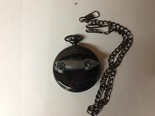 Austin Healey 100/4 (Plain) ref23 emblem polished black case mens pocket watch