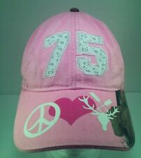 Womens The Crush with Lee and Tiffany 75 Pink with Realtree Camo Adjustable Hat