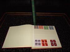 Schweiz 1965 - 1982 4er-Blocks gest. Sammlung