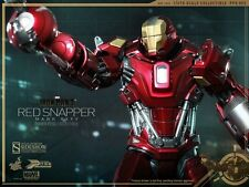 "Hot Toys Iron Man Mark XXXV 35 Red Snapper Power Pose 13"" Figure 1/6 Tony Stark"
