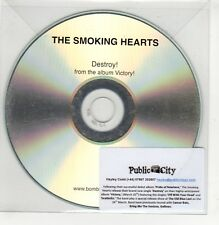 (GI444) The Smoking Hearts, Destroy! - DJ CD