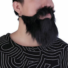 Fancy Dress Mustache&Fake Beard Facial Hair Party Costume Dress Up HalloweenEF