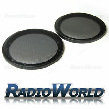 "6.5"" 165mm Speaker Grills/Covers Universal Fitment Pair Car/Caravan/Home"