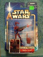 2002 HASBRO STAR WARS ATTACK OF THE CLONES BATTLE DROID # 11 COLLECTION  2