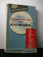 AMERICAN GUIDE TO EUROPE [American Automobile Association, 1955]