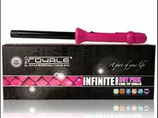 Royale Hot Pink Infinite 19mm Hair Curling Iron/Curler/Wand Iron+Glove