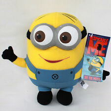 "Despicable Me Minion Plush Soft Toy Stuffed Animal Doll Teddy 9"" Dave"