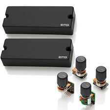 EMG 40DC Dual Coil Bass Pickup set & BTS Tone Control System NEW free shiS