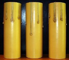 Candle Socket Cover or covers old floor lamp wall sconce antique color