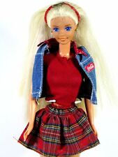DRESSED BARBIE DOLL IN COCO COLA OUTFIT