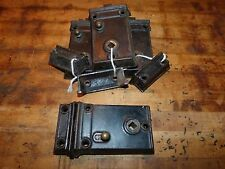 Mallory Wheeler & Co. Cast Iron Rim Lock & Strike Plate Set for Farmhouse