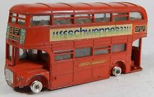 Vintage DINKY Red Double Decker Routemaster Bus