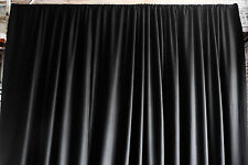 PIPE CURTAINS FOR SOUND CONTROL - 22oz Avora 10'T x 15'W Black