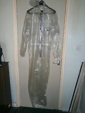 Soft PVC one piece suit or coverall. size xxl