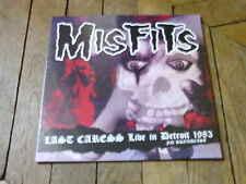 MISFITS Last caress Lp Live in detroit 83