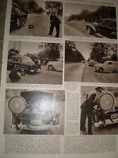 Photo article Australia police employ radar car speed checks 1955 ref Z