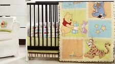 New Disney Winnie the Pooh  Tidy Time Infant Baby 3-pc Crib Bedding Set