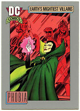 Phobia #103 Impel 1991 DC Comics Trade Card (C289)