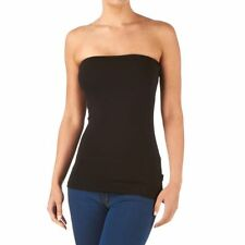 Strapless Tube Top for Women - Black