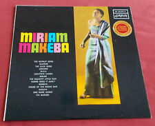 MIRIAM MAKEBA ORIG LP FR 60'S CLICK SONG