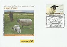 Erlebnis Briefmarken - Meiningen - Rhönschaf - Auflage 2000 Stück/189