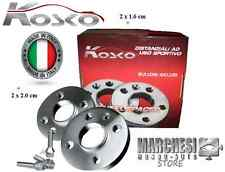 KIT 4 DISTANZIALI RUOTA 16mm. + 20mm. - SMART TYPE 451 FORTWO 3 FORI CON BULLONI