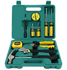 TECH PROFESSIONAL 12 PZ BASIC mano CARRY TOOL BOX KIT FIX Riparazione Strumenti Casa Set