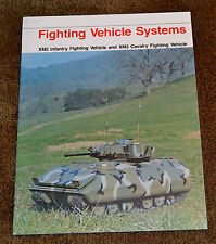 1978 Advertising Prototype M2 M3 Bradley XM2 XM3 XM1 M1 Abrams Fighting Vehicle