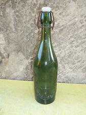 Ancienne bouteille de limonade TRIVIER CARRE DIJON BRASSEUR