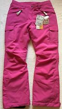 Hyra Womens Ski Snowboard Pants Salopettes Ladies Trouser L Pink NEW