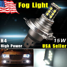 1X White H4 HB2 9003 2835 15W LED Fog Drving DRL Conversion Beam Headlight Bulb