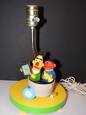 Vintage Sesame Street Ernie and Bert Lamp and Night Light