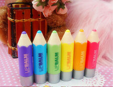 Lovely Fruit Pencil Type Colorful Balm Lipstick Lip 1Pc Beauty New