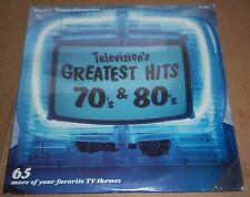 Television's Greatest Hits 70's & 80's - TeeVee Toons TVT 1300 SEALED