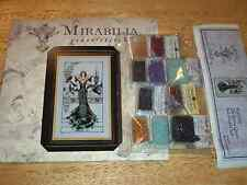 NEW! Mirabilia MD139 THE RAVEN QUEEN Pattern and Embellishment Pack