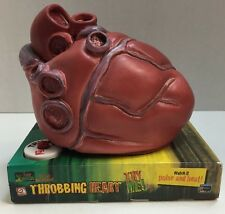 Gemmy Throbbing Heart Dr Shivers Mad Scientist Halloween Pulse Beat Sound New